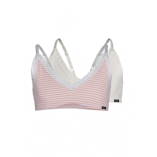 """Skiny Mädchen Bustier 2er Pack """"Every Day In CottonLace Multipack"""""""